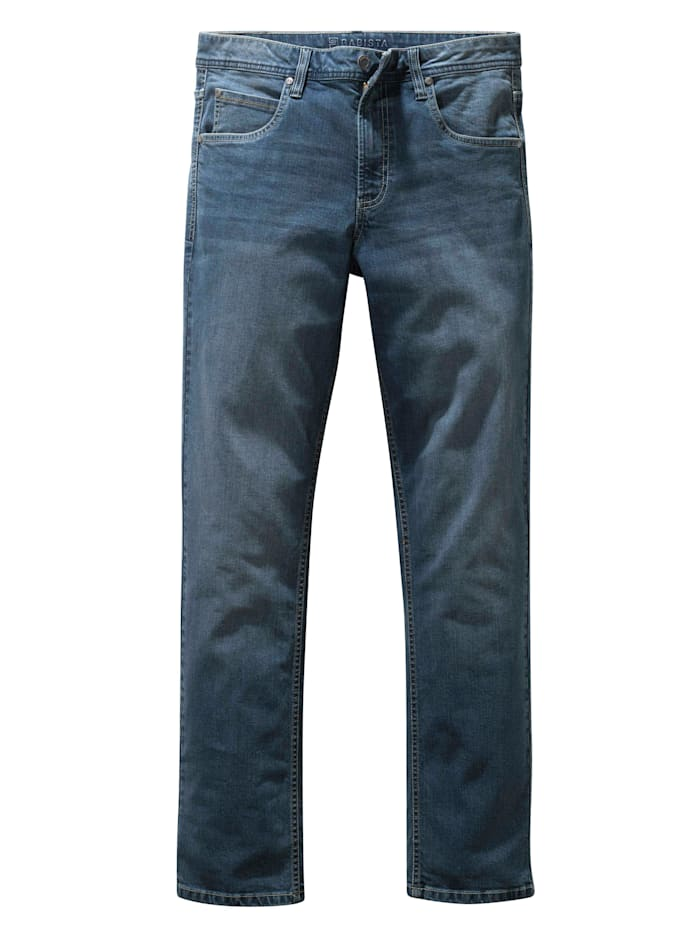 BABISTA Jeans in used look, Blauw