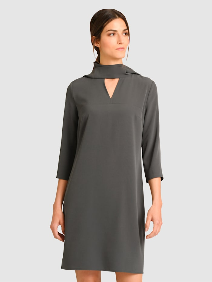 Alba Moda Kleid individuell tragbar, Grau