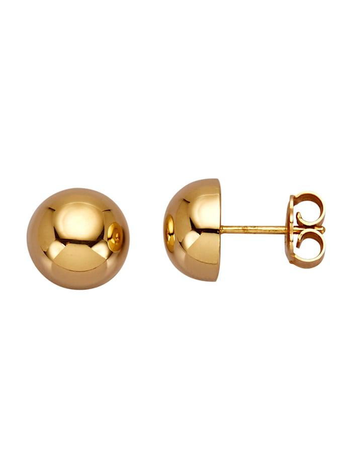 Diemer Gold Boucles d'oreilles en or jaune, Coloris or jaune