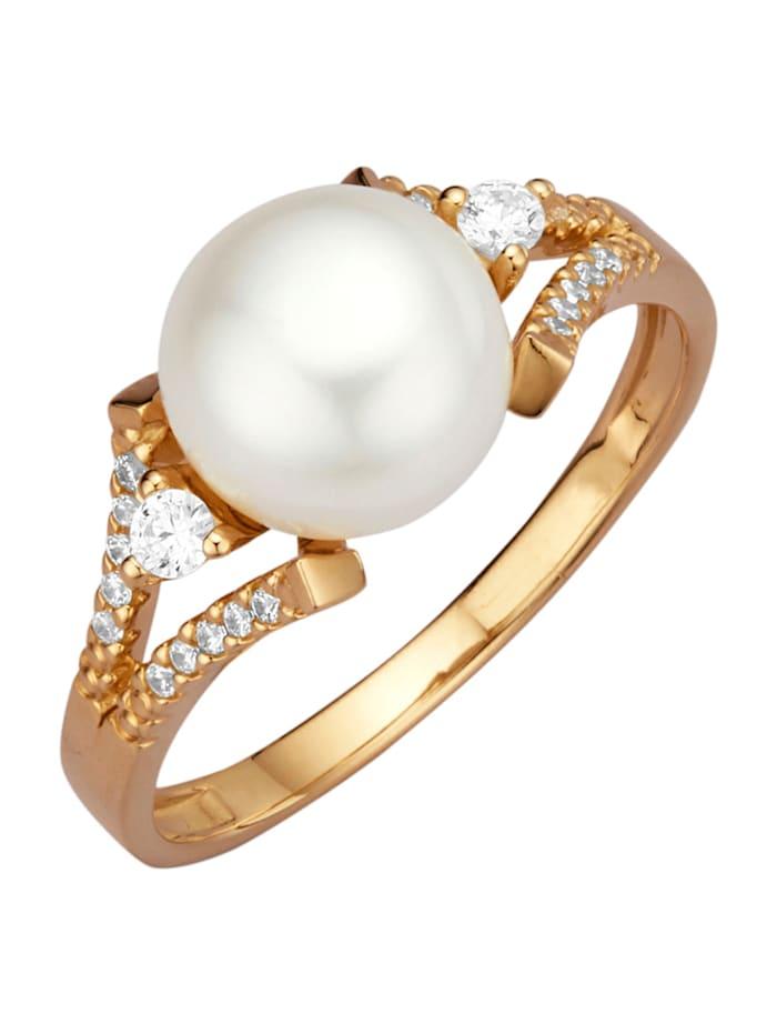 Diemer Perle Naisten sormus, Valkoinen
