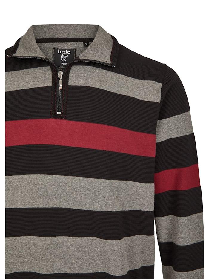 Sweatshirt mit Ottomanrippe