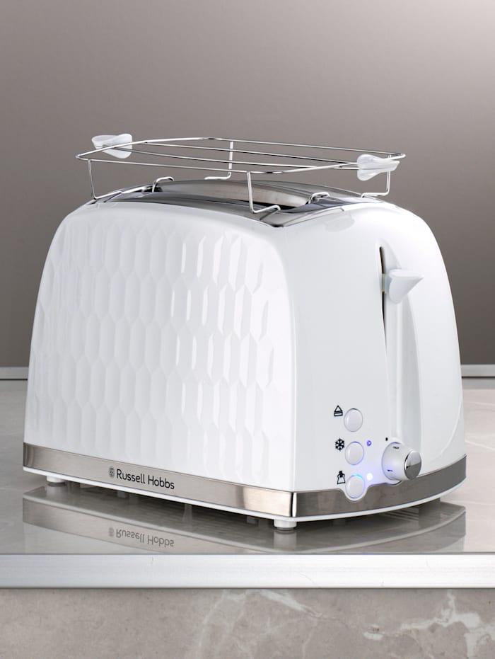 Russell Hobbs Toaster 'Honeycomb', Biela