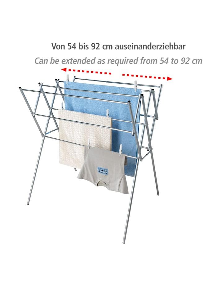 Teleskop-Wäschetrockner Edelstahl, Edelstahl rostfrei