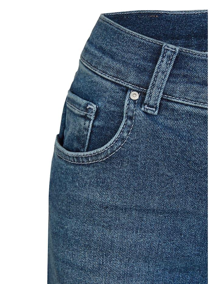 Jeans ,Skinny' in schmalem Schnitt
