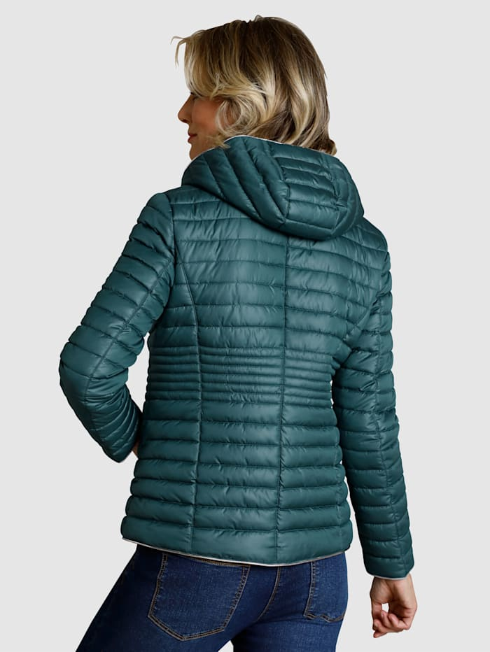 Jacket in a quilted pattern