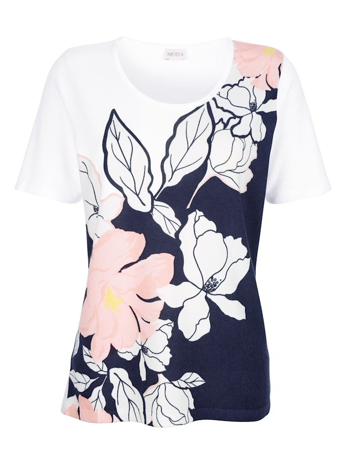 Top in a floral design