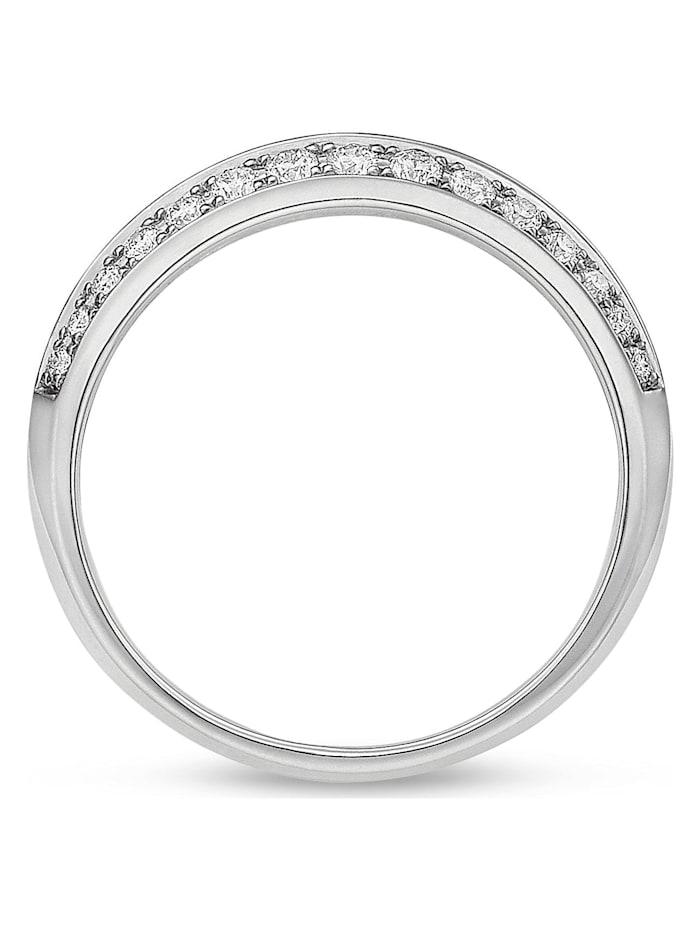 CHRIST Diamonds Damen-Damenring 585er Weißgold 30 Diamant