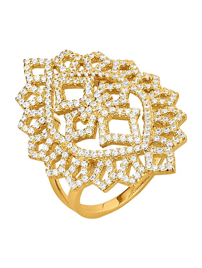 Golden Style Damesring, Geelgoudkleur