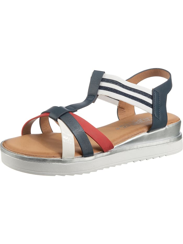 Laufsteg Klassische Sandaletten, blau-kombi