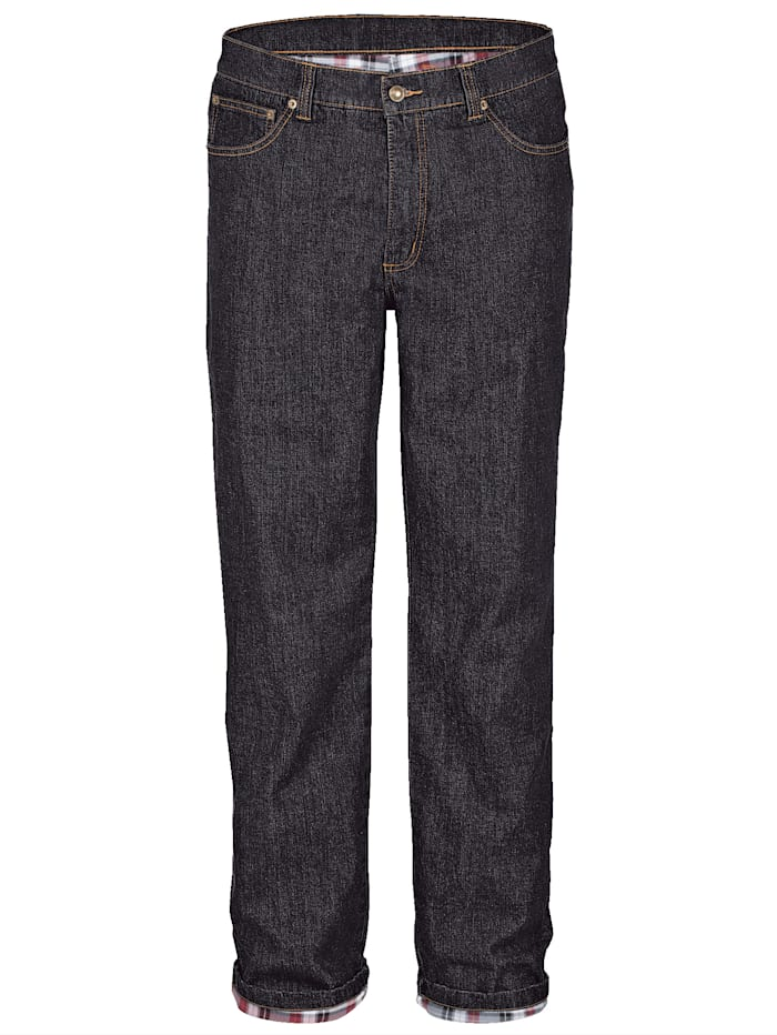 BABISTA Fodrade jeans – varma och sköna, Svart