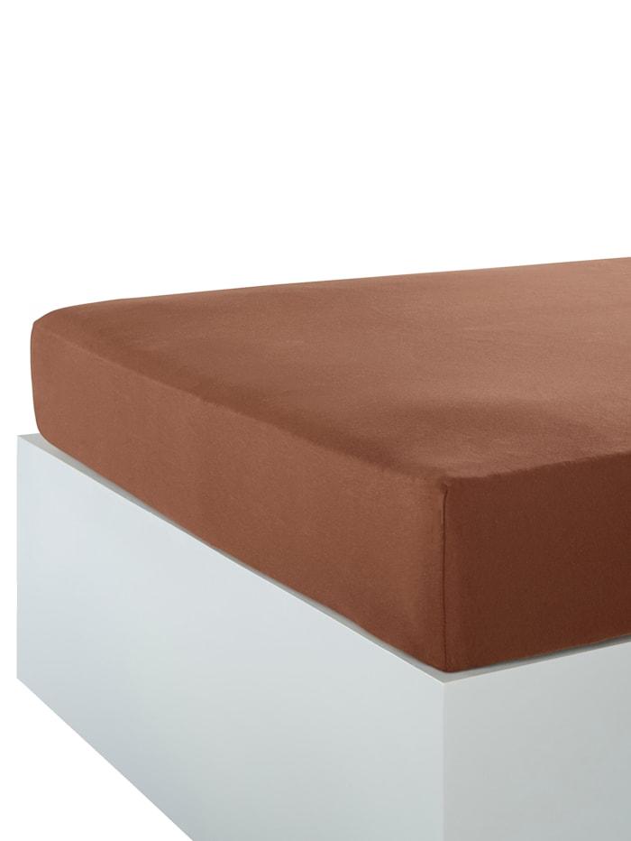 Webschatz Strekklaken i nydelige farger, sjokoladebrun