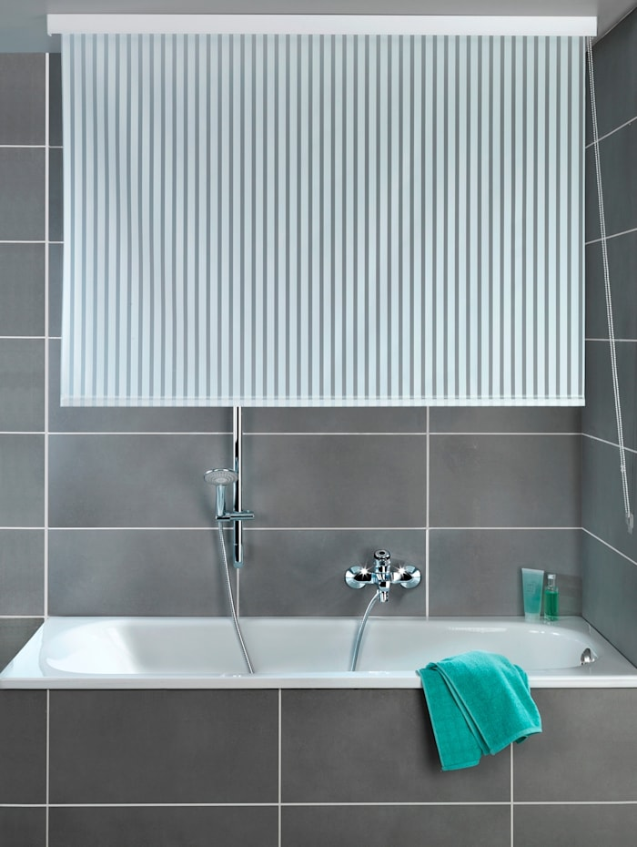 Wenko Rullaverho suihkuun, valkoinen