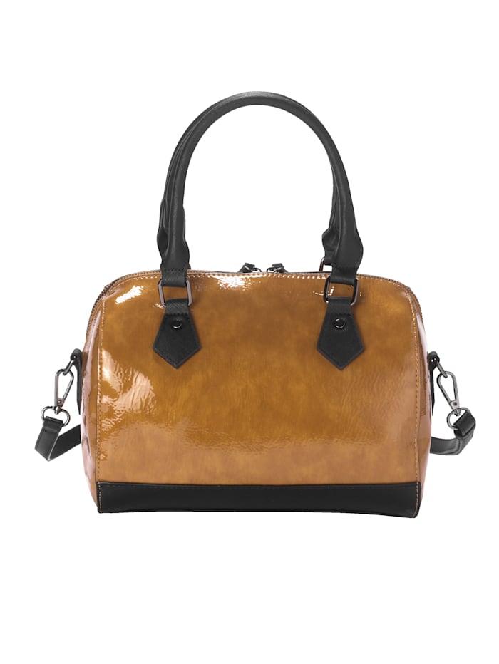 Handväska i härligt material