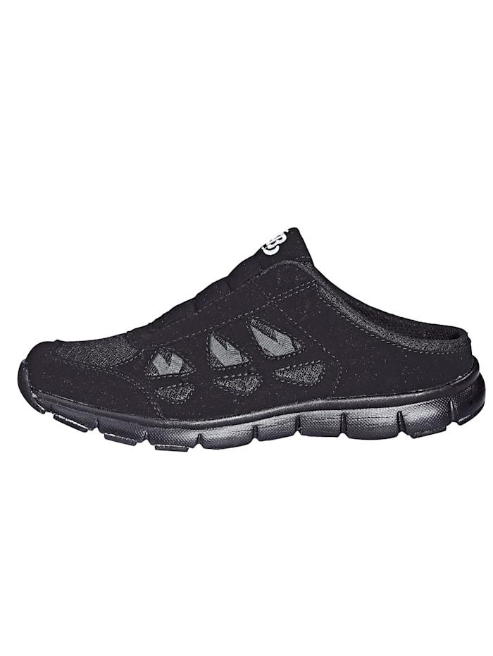 Sabot obuv s mesh vsadkami