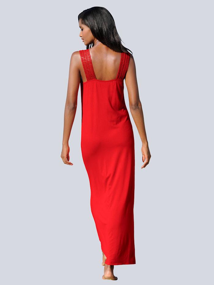 Kleid in Maxilänge