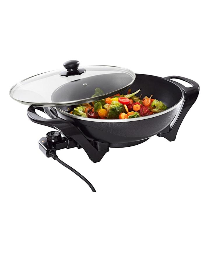 Mia Prodomus Elektrische wok, zwart