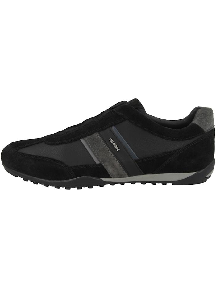Geox Sneaker low U Wells A, schwarz