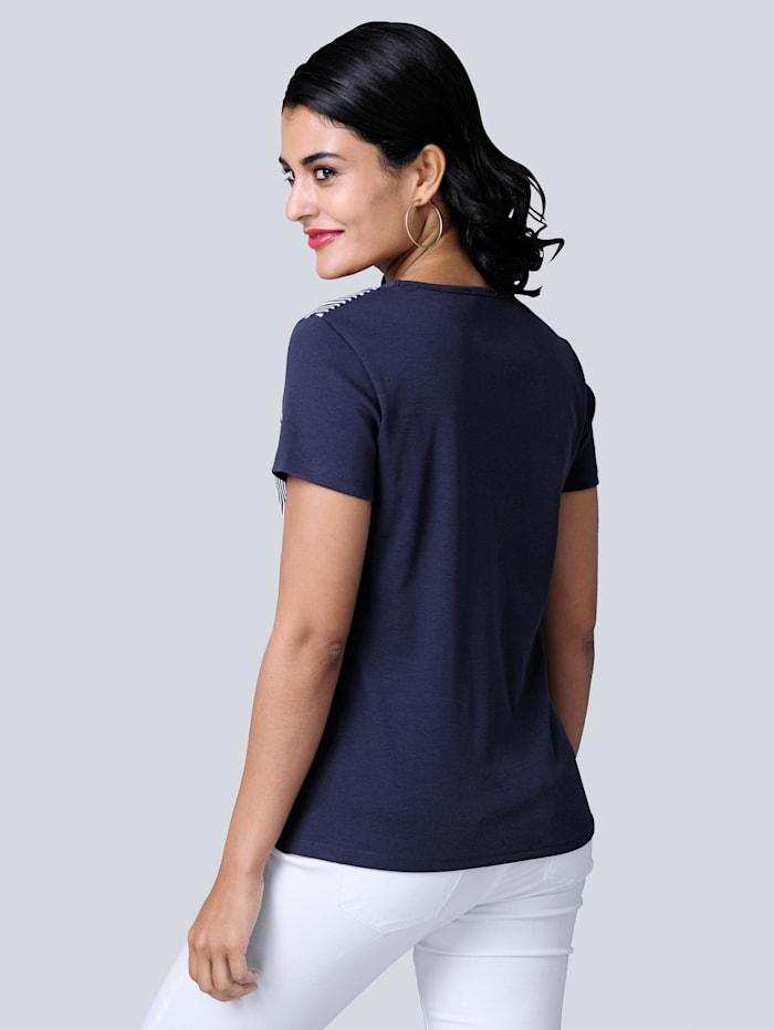 Shirt mit ausdrucksstarkem Druck im Vorderteil