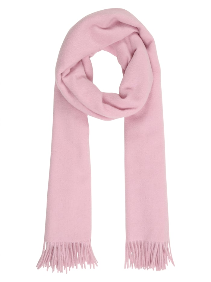 Sätila of Sweden Schal Renè mit Fransenabschluss, light pink