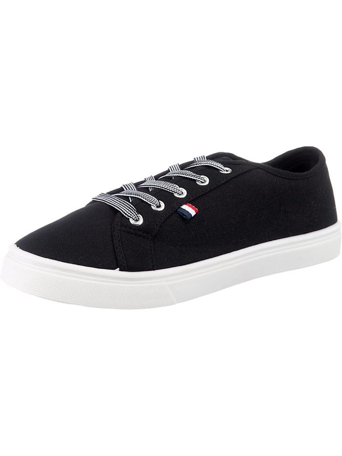inselhauptstadt Flat City Sneaker, schwarz