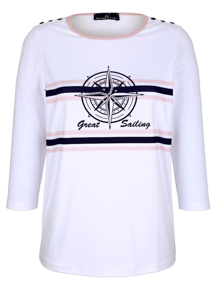 Shirt mit maritimem Design