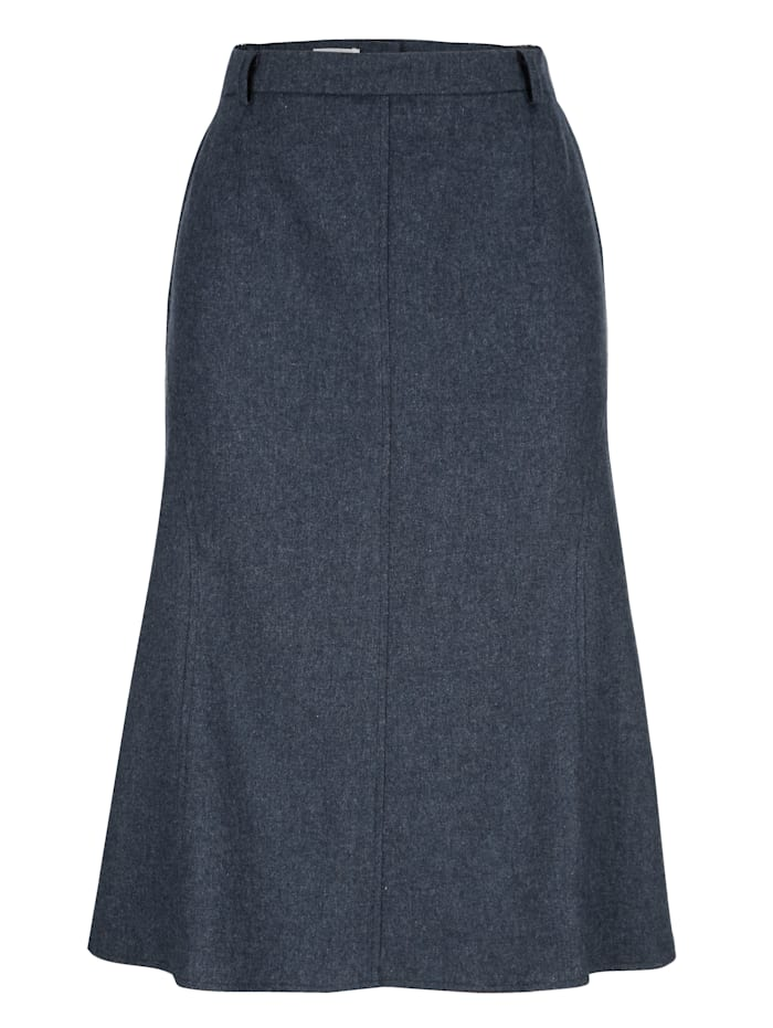 Skirt in a textured finish