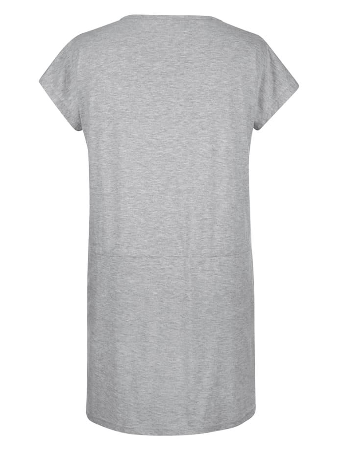Nachthemd mit regulierbarem Bindeband