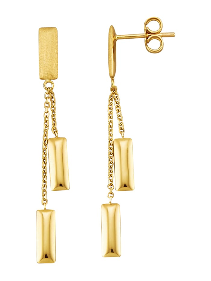 Diemer Gold Ohrringe, Gelbgoldfarben