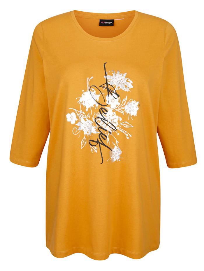 Shirt mit Folienprint