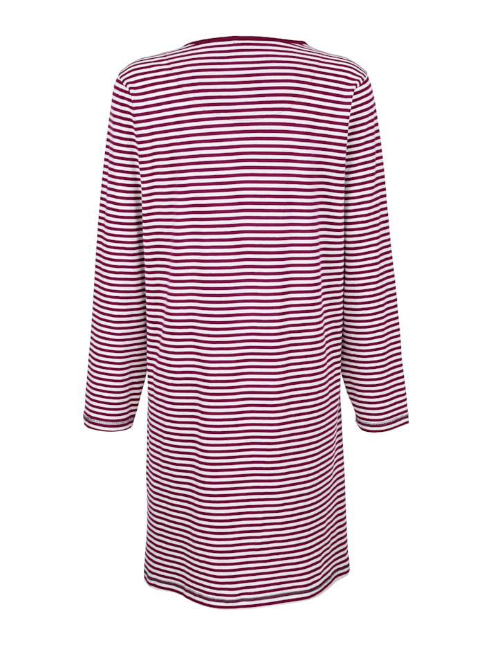 Nachthemd met tijdloos streepdessin