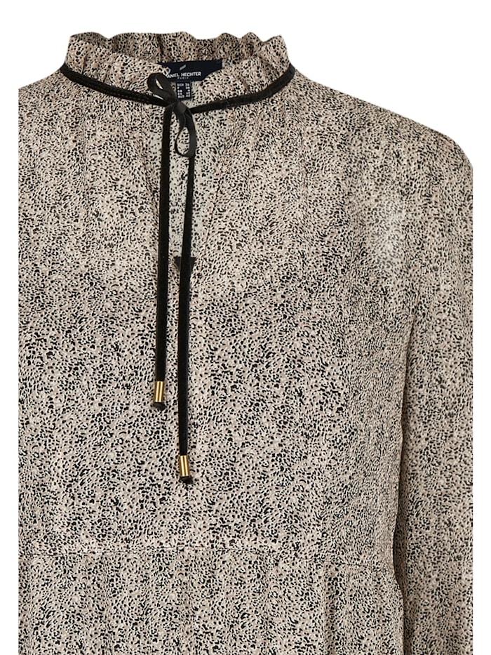 Trendiges Kleid mit Minimalprint