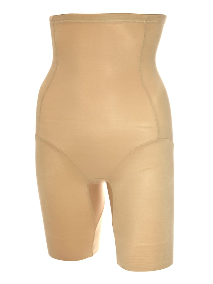 Miederhose mit rutschfestem Silikonabschluss am Bein