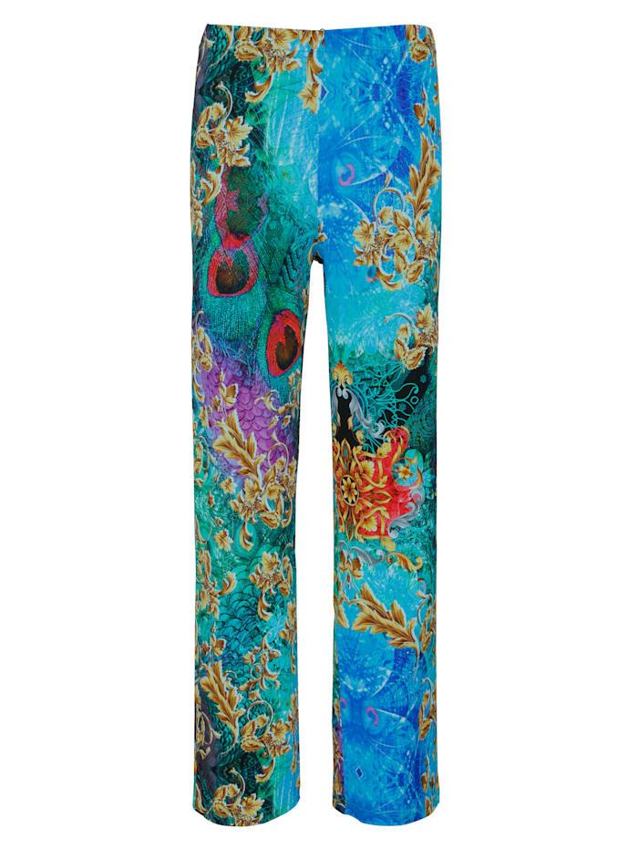 Alba Moda Strandhose im Dessinmix, Multicolor