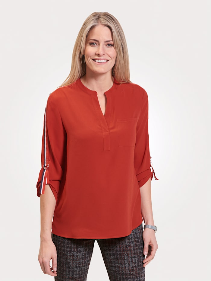 Pull-on blouse