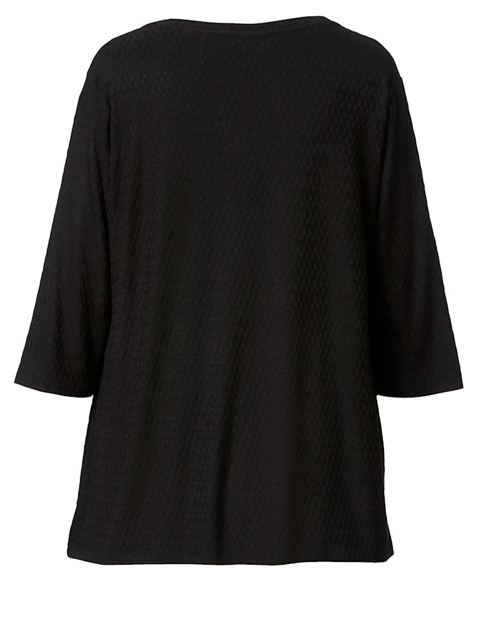 Shirt mit Strukturstrick