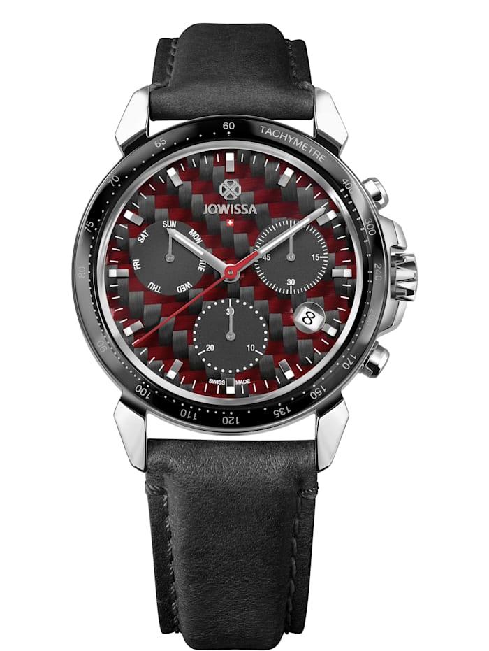 Jowissa Quarzuhr LeWy 18 Swiss Men's Watch, stahl