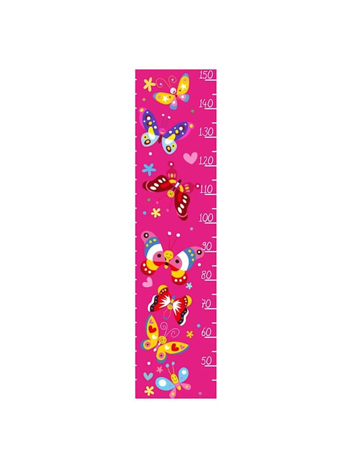 HTI-Line Kinder-Messlatte Butterfly, Bunt