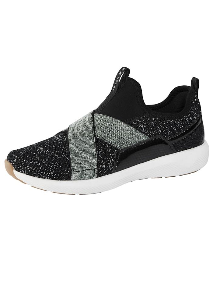 24 Hours Sneaker met drie-componenten-tussenzool, Zwart