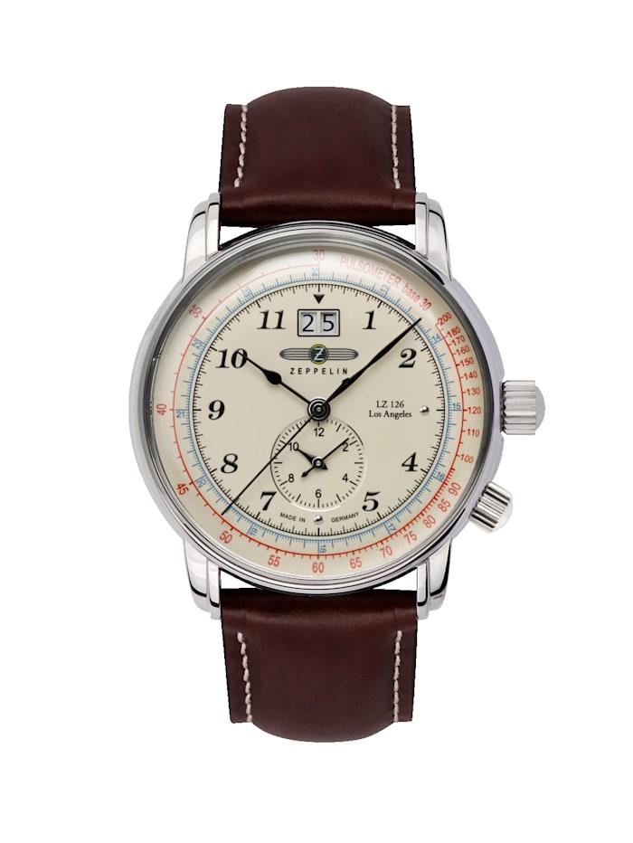 Zeppelin Herren-Chronograph 'Los Angeles LZ 126', Braun