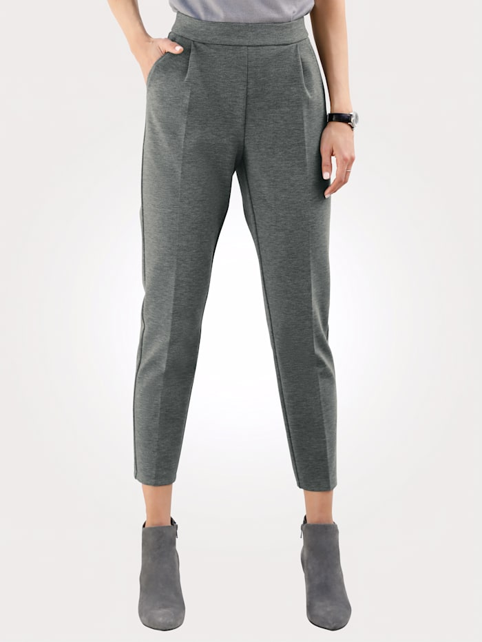 MONA Pull-on trousers, Grey