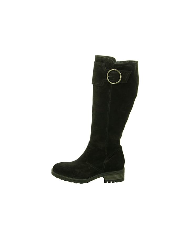Damen Stiefel in schwarz