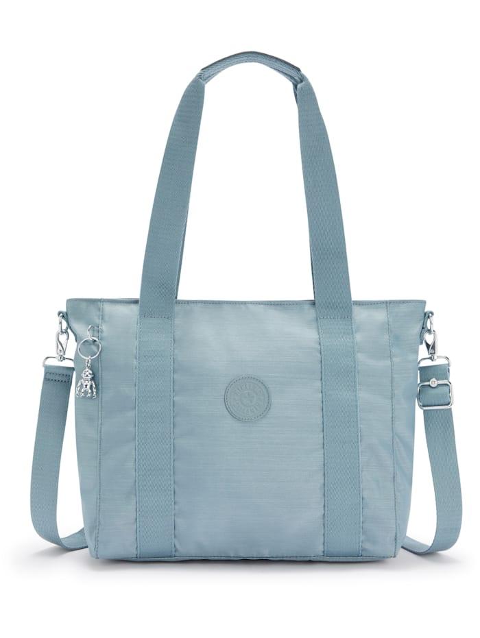 Kipling Basic Plus Asseni S Shopper Tasche 40 cm, sea gloss