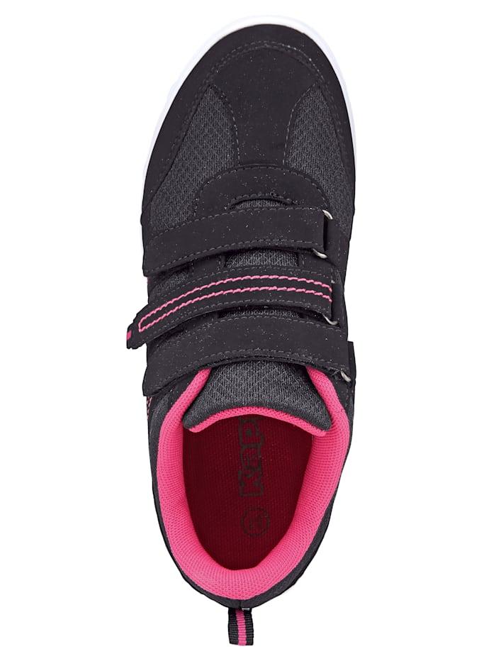 Sneaker obuv s 3 suchými zipy