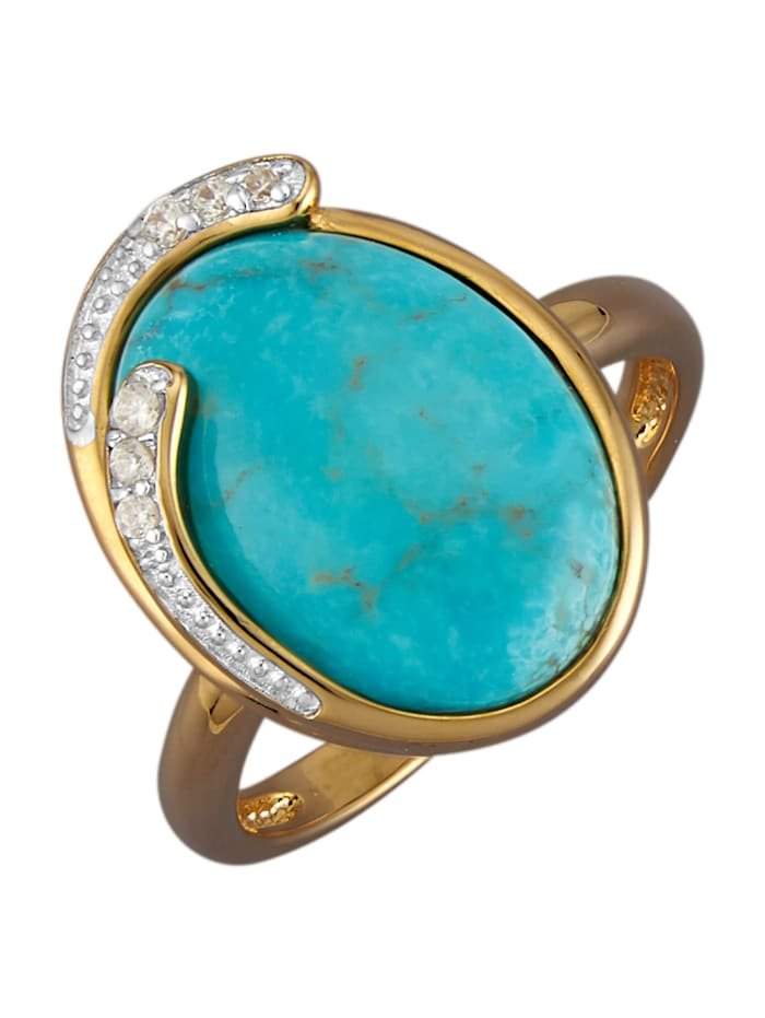 Damesring, Turquoise
