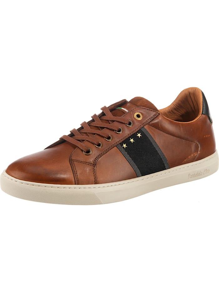 Pantofola d'Oro Napoli Uomo Low Sneakers Low, dunkelbraun