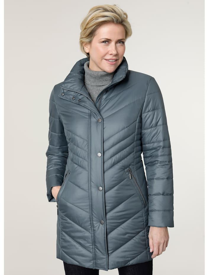 MONA Jacket with a built-in thermometer, Ice Blue