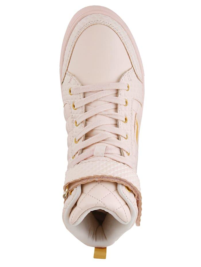 High-Sneaker mit variablem Klettriegel