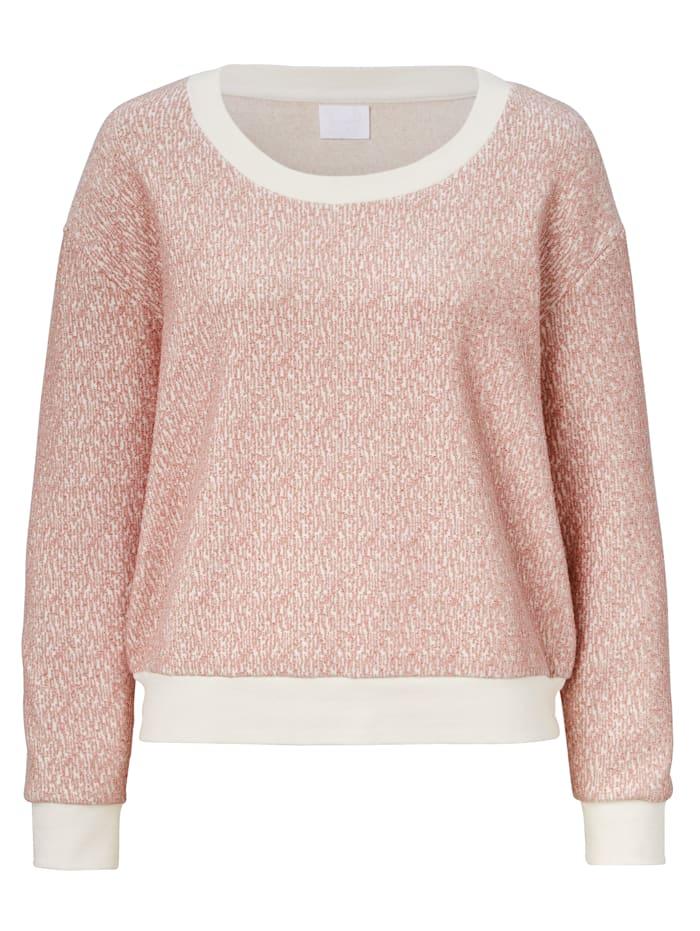 REKEN MAAR Sweatshirt, Rosé