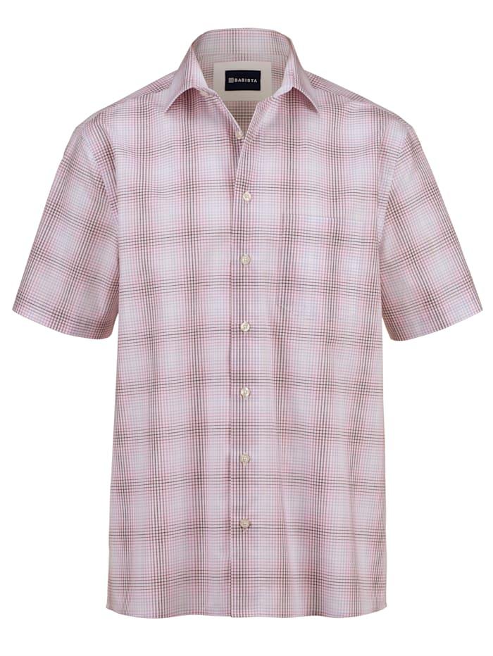 BABISTA Kortärmad skjorta i lättstruket material, Rosa