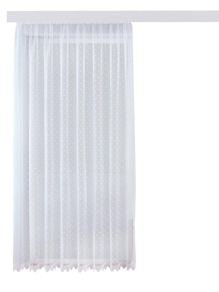 Webschatz Gardinserie, hvit